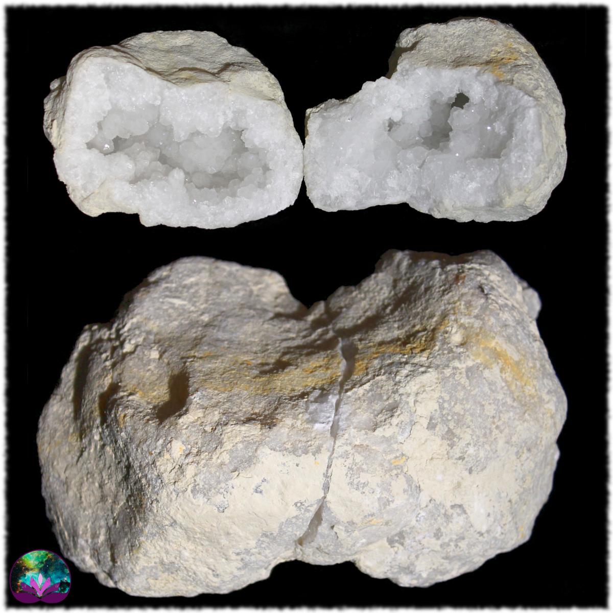 Géode de calcite - Grand modèle 2,8 kg