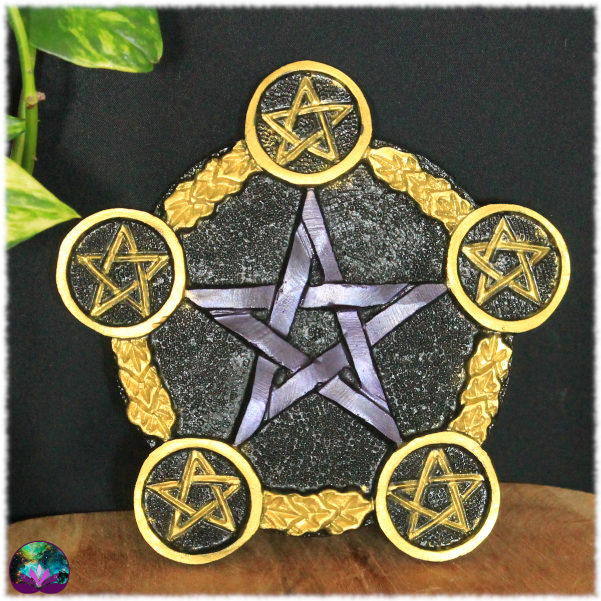 Pentagramme d\'autel Purple velvet