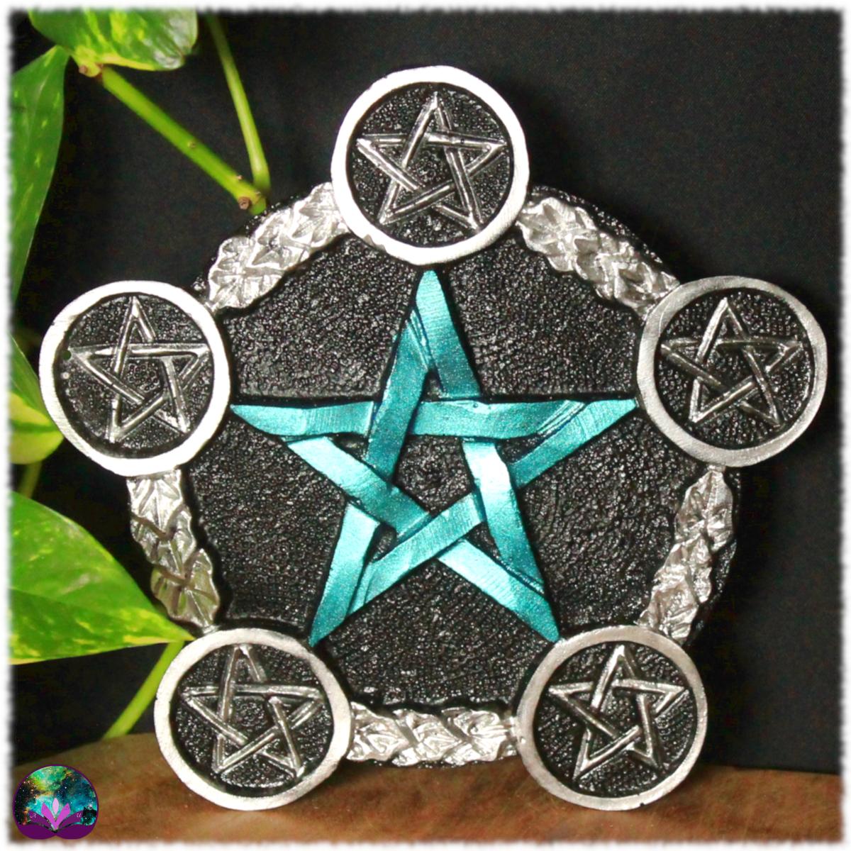Pentagramme d\'autel Metallic blue