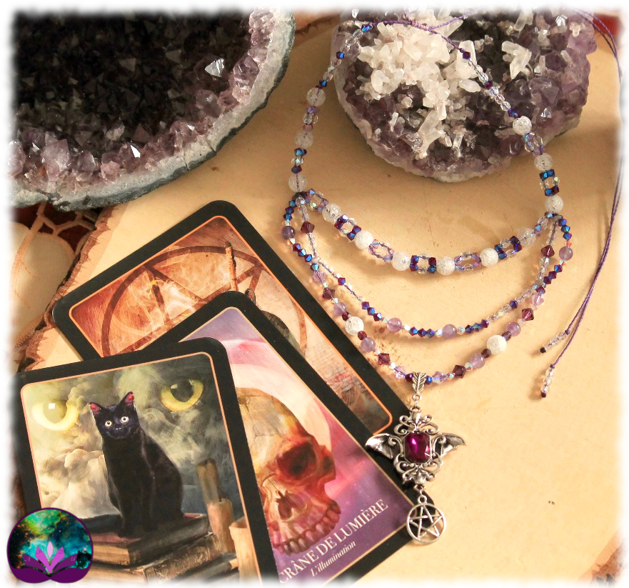 Collier Purple Witch en améthyste