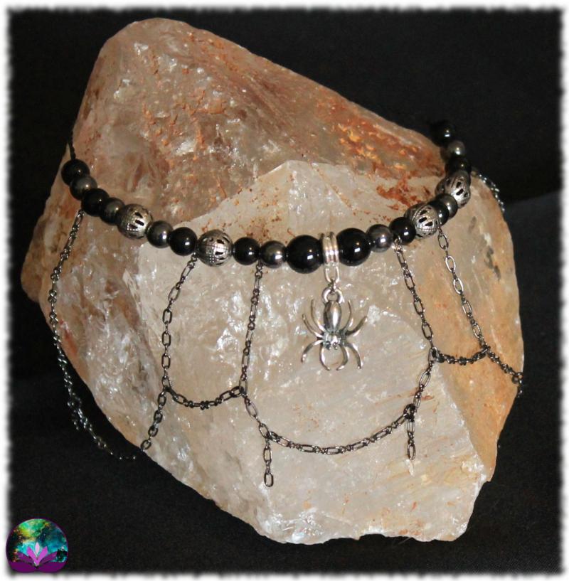 Bracelet La tisseuse du soir