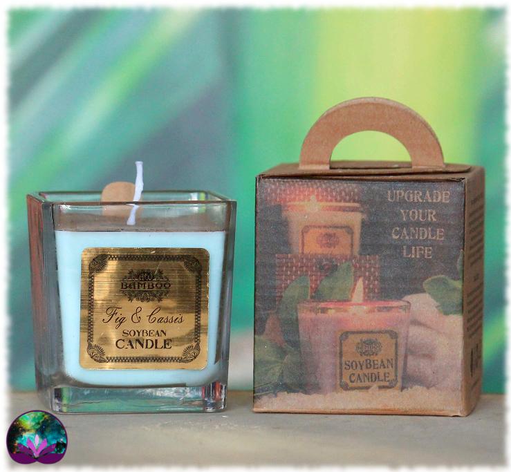 Bougie parfumée Figue et cassis