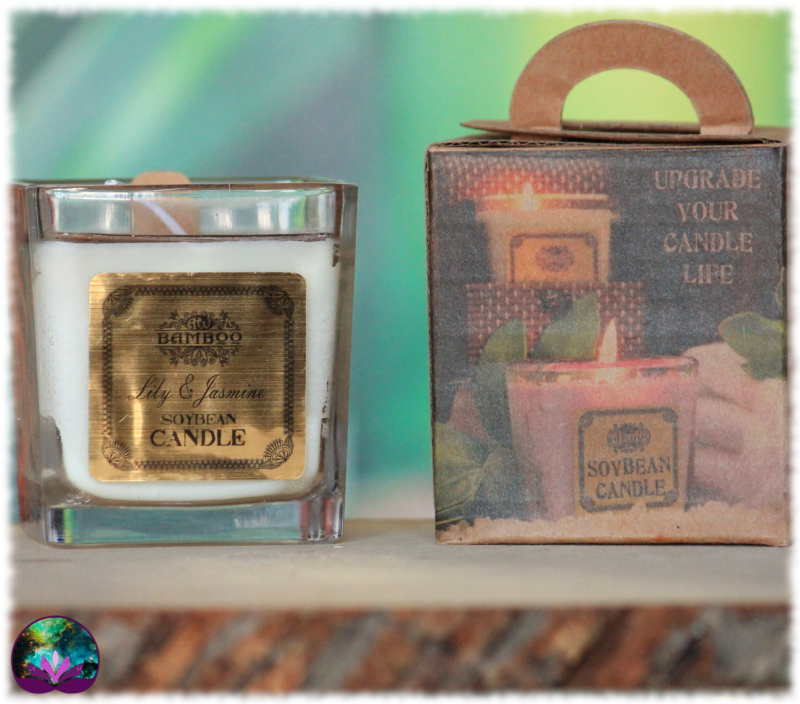 Bougie parfumée Lys et Jasmin