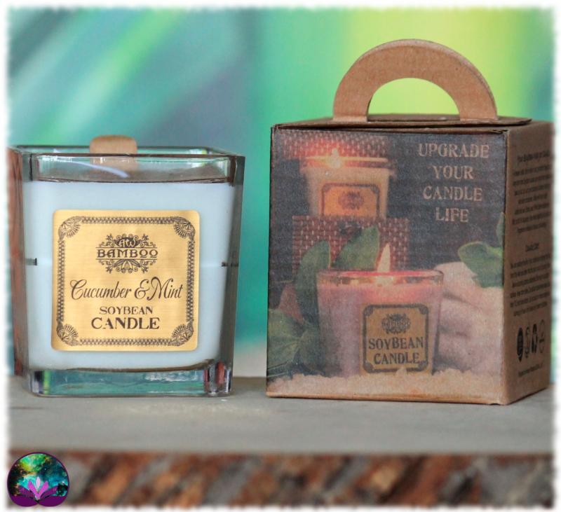 Bougie parfumée Concombre et Menthe