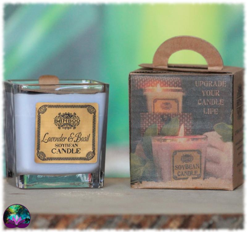 Bougie parfumée Lavande et Basilic