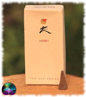 Encens Zen - Myrrhe 10 cônes
