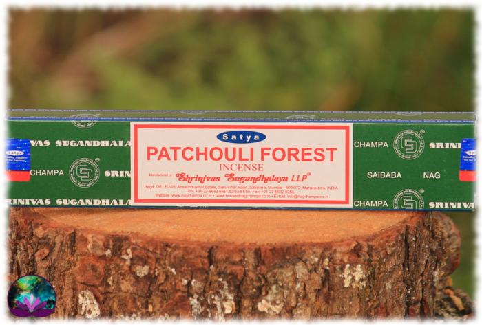 Encens Indien Satya Patchouli Forest 15 gr