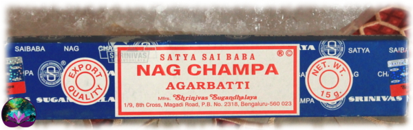 Encens Indien NAG CHAMPA 15G