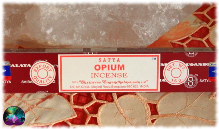 Encens Indien Satya Opium 15 gr