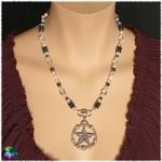 collier protection d ombre et de lumière cristal et hématite 3