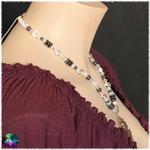 collier protection d ombre et de lumière cristal et hématite