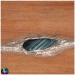 grimoire artisanal noyer oeil faucon 3