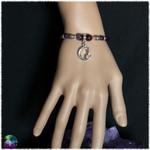 bracelet chat mystique daméthyste 2
