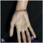 bracelet chat mystique daméthyste 3