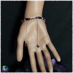 bracelet triquetra améthyste et lepidolite 3