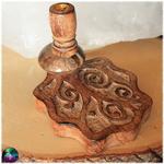 fontaine à encens arbre de vie bois