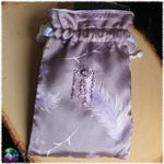 tapis de carte pissenlit plume mauve 5