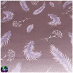 tapis de carte pissenlit plume mauve 3