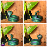 Support serpent cobra multiusage couleur vert 5