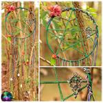 pentagramme tissé rdv dans les bois