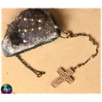 collier chapelet renaissance croix