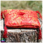 coussin bol tibetain rouge-2