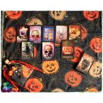 tapis de carte citrouille halloween 3