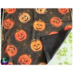 tapis de carte citrouille halloween