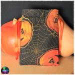 pochette cartes araignée citrouilles halloween 6