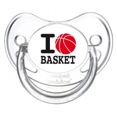 Sucette I love basket