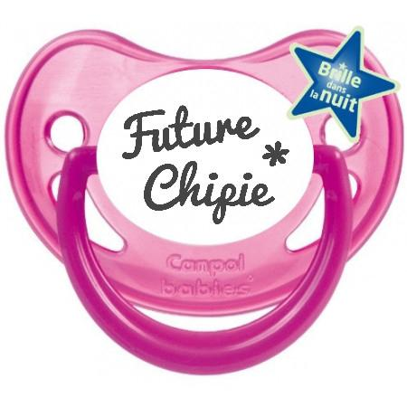 Sucette future chipie