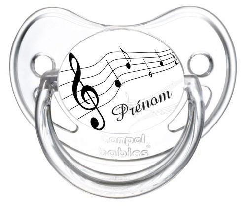Sucette bébé musique
