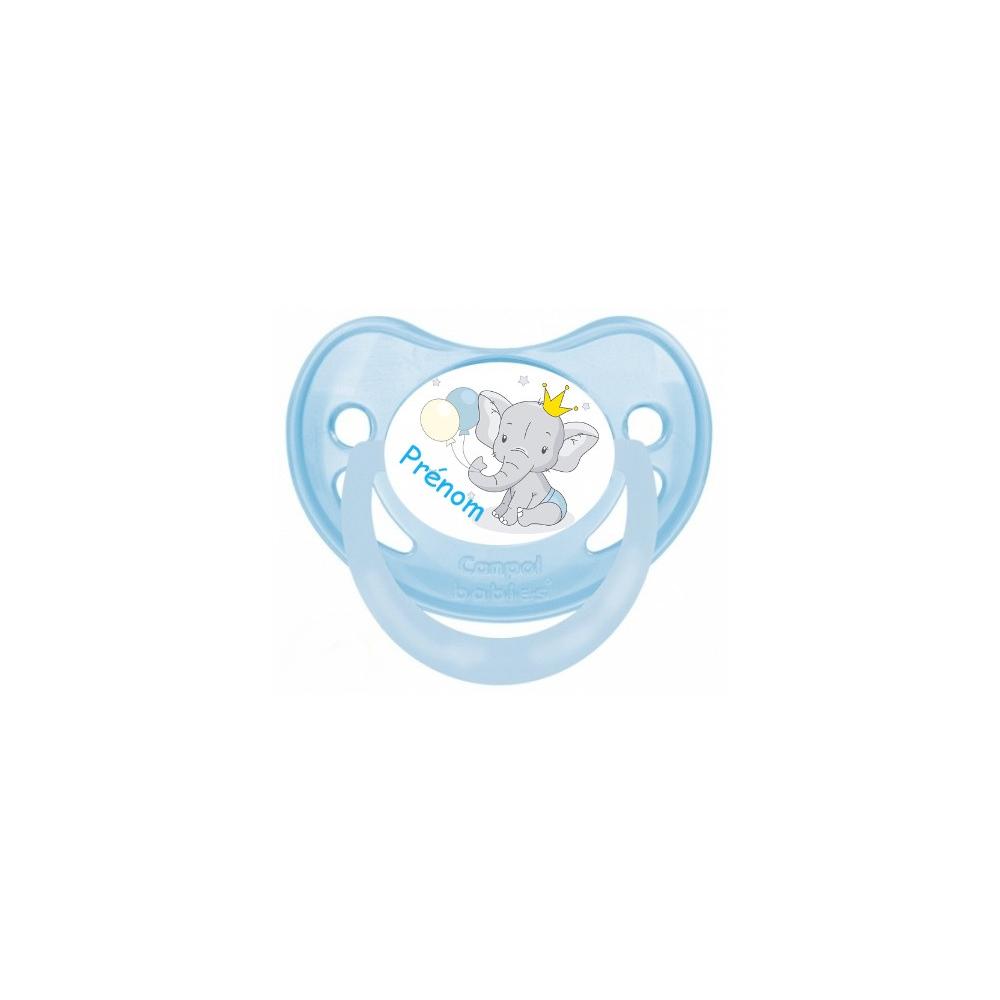 Sucette bébé éléphant tendresse