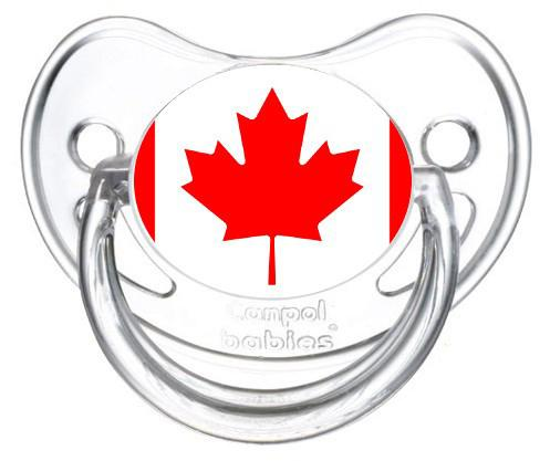 Sucette drapeau Canada