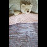 couverture bébé flamands roses 1