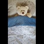 couverture bébé motif chouettes 1