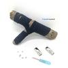 Lacet magnétique Fast-Lace collection Unie design Bande Bleu Navy