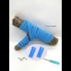 Les lacets magnétiques Fast-Lace collection assortie bleu ciel