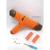 Les lacets magnétiques Fast-Lace collection assortie orange