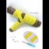 Les lacets magnétiques Fast-Lace collection assortie jaune citron