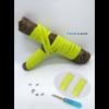 Les lacets magnétiques Fast-Lace collection assortie jaune