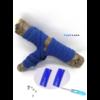 Les lacets magnétiques Fast-Lace collection assortie bleu royal