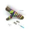 Fast-Lace les lacets magnétiques collection fun rainbow