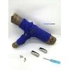 Fast-Lace les lacets magnétiques collection unie avec point bleue