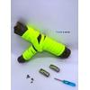Fast-Lace les lacets magnétiques collection unie avec point jaune fluo