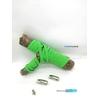 Fast-Lace les lacets magnétiques collection UNIE design bande vert