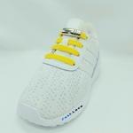 Les lacets magnetiques Fast-Lace point jaune