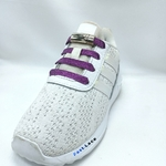 Les lacets magnetiques Fast-Lace brillant violet