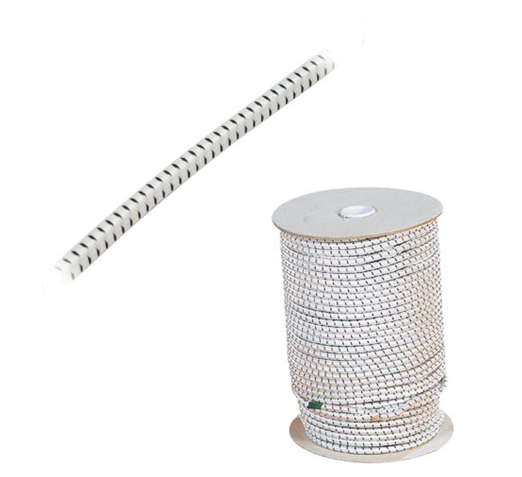 SANDOW AU METRE - DIA.4mm - BLANC MOUCHETE (10 METRES)