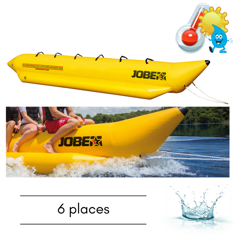 BOUEE TRACTABLE JOBE WATERSLED 6 PERSONNES